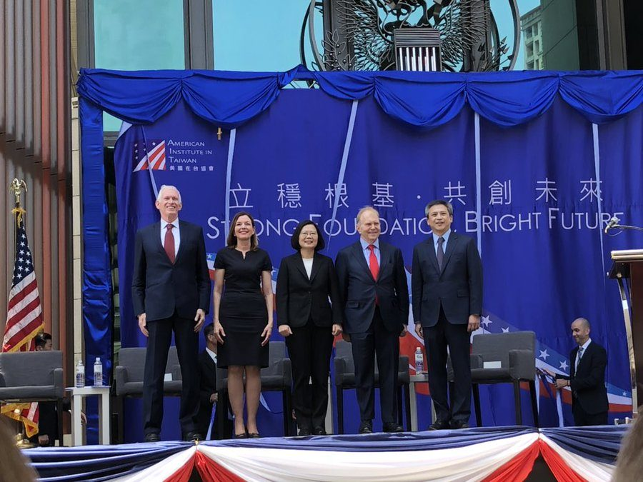 Council Visit to American Institute in Taiwan Opening in Taipei – June 2018