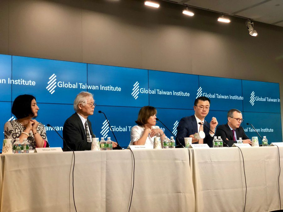 Council President Moderates at 2019 GTI Annual US-Taiwan Symposium