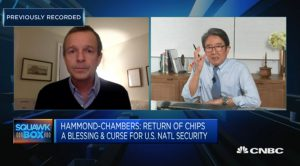 Rupert Hammond-Chambers on CNBC Squawk Box