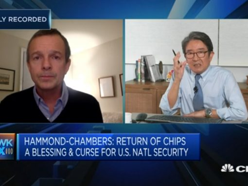 Media Mention: Council President on CNBC Squawk Box