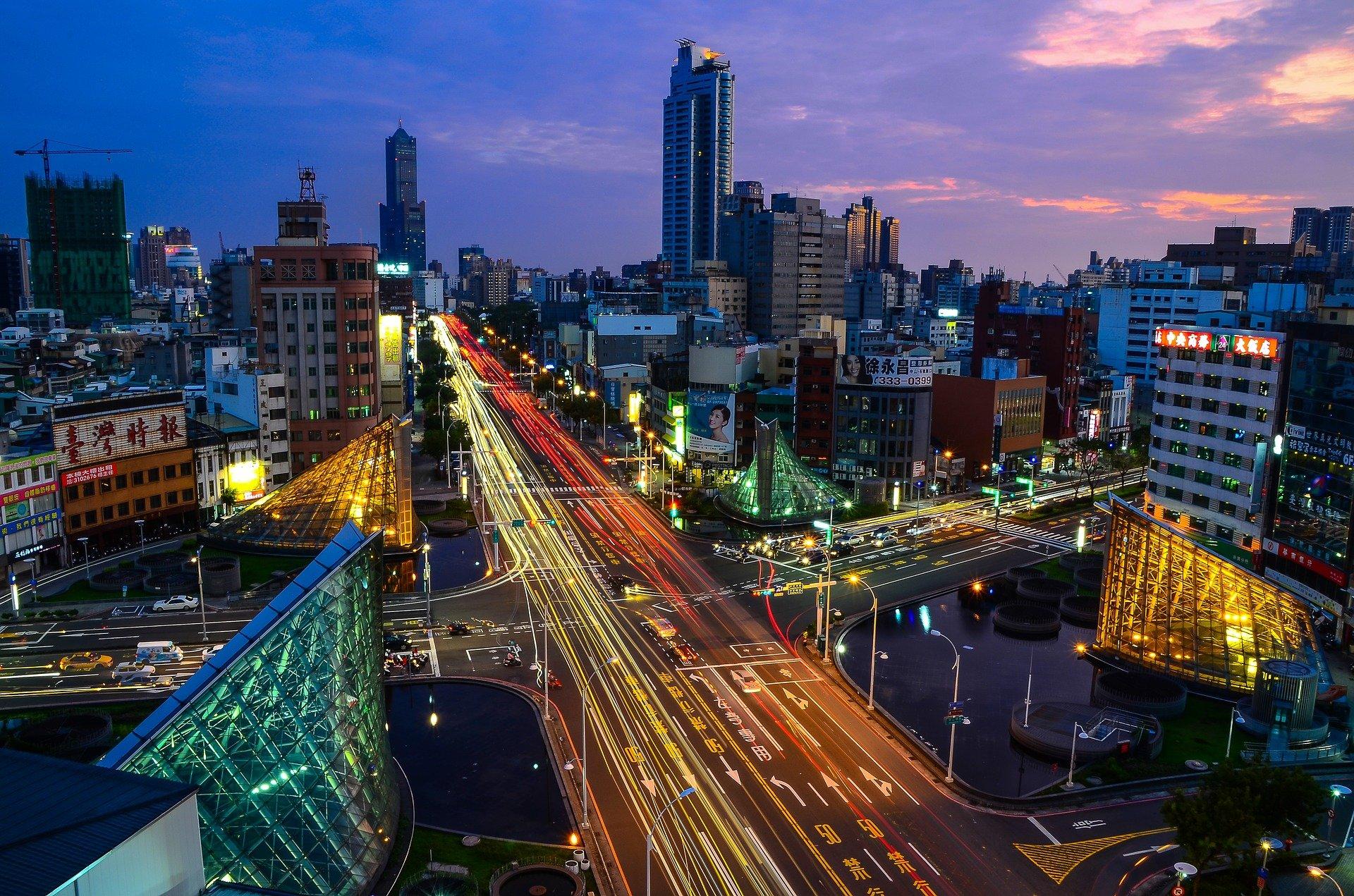 Kaohsiung, Taiwan (By tingyaoh on Pixabay)